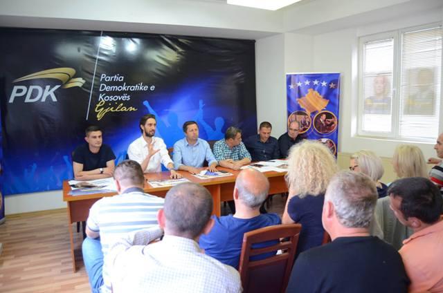 Mobilizim i Shtabeve të nëndegëve për fitore sa më të lartë për PDK-së