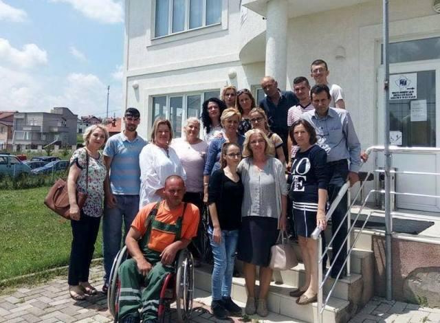 Forumi Gruas së AKR-së në Gjilan vizitë Handikos-it