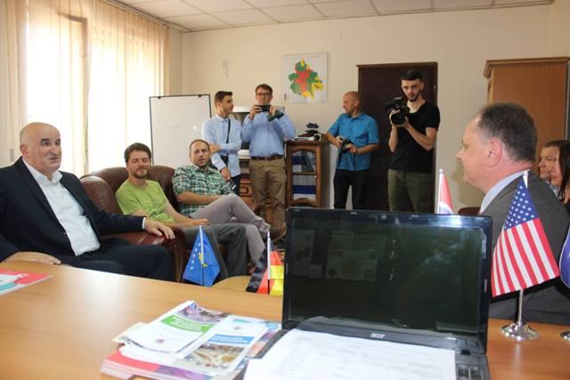Një delegacion i komunës Kirchhain të Gjermanisë po qëndron në vizitë në komunën e Vitisë