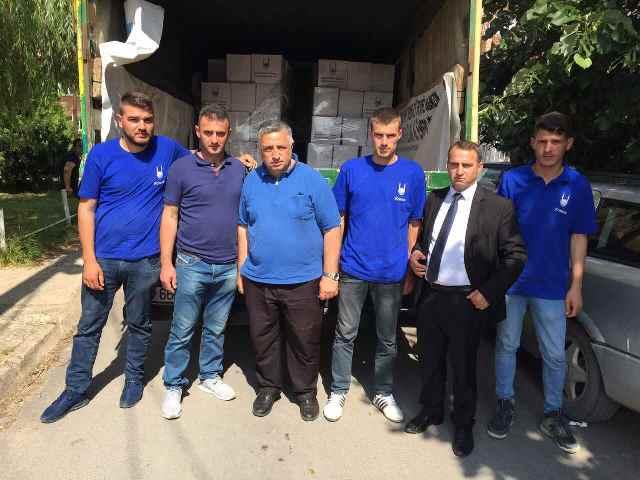 Në Gjilan shpërndahen 200 pako ushqimore për familjet në nevojë