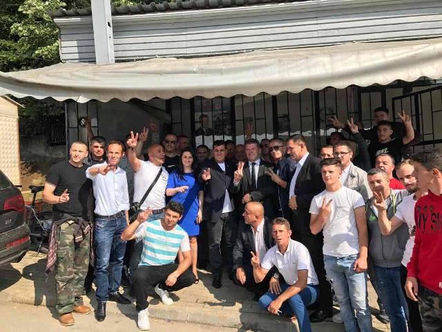 Lutfi Haziri me kandidatët e nominuar për deputet vizita pune në shtabet e 40 nëndegëve