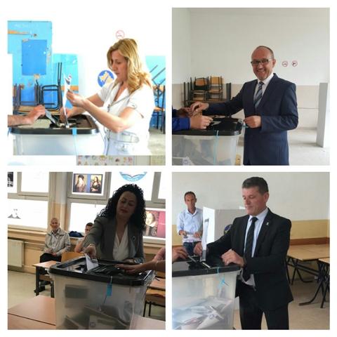 Votojnë kandidatët e LDK-së nga Gjilani
