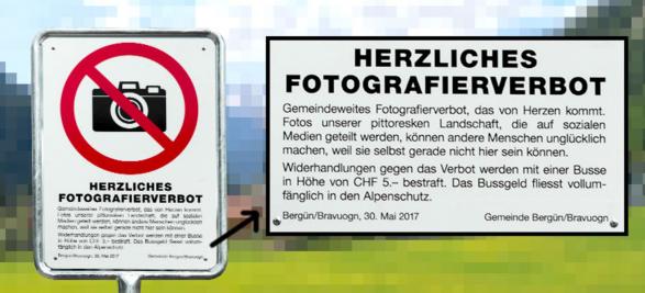 Ndalohet fotografimi në fshatin piktoresk zviceran Bergun