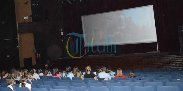 Pak shikues për filma në shtëpinë e kulturës në Bujanoc