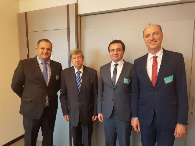 Vetëvendosje: Vazhdojnë takimet në europarlamentarë në Bruksel