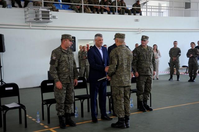 Presidenti: Ushtria e Kosovës, parakusht për integrimet euroatlantike