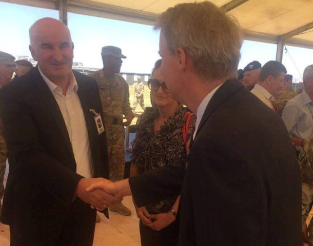 Kryetari Haliti takohet edhe me ambasadorin Delawie