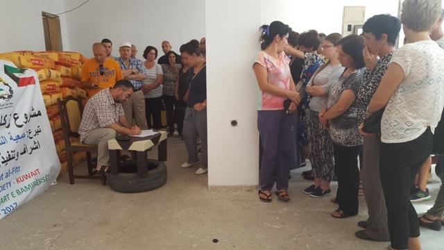 KBI shpërndanë miell për 150 familje me jetim