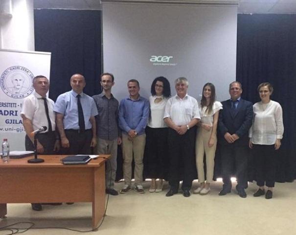 """Delegacioni i Universitetit """"Kadri Zeka""""  vizitë zyrtare në Universitetin e Mariborit të Sllovenisë"""