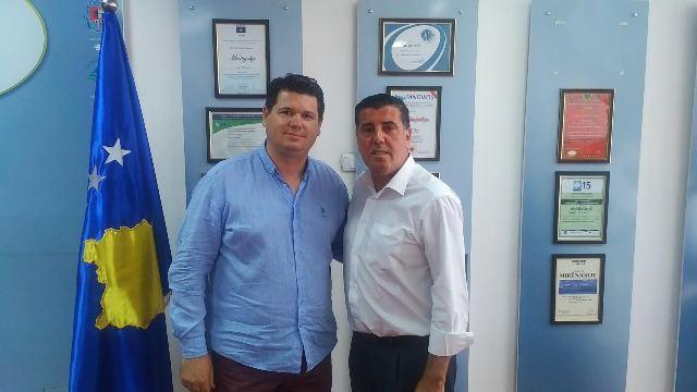 """Haziri merr konfirmimin për fillimin e projektit të stadiumit, palestrës në Zhegër dhe palestrës """"Bashkim Selishta"""""""