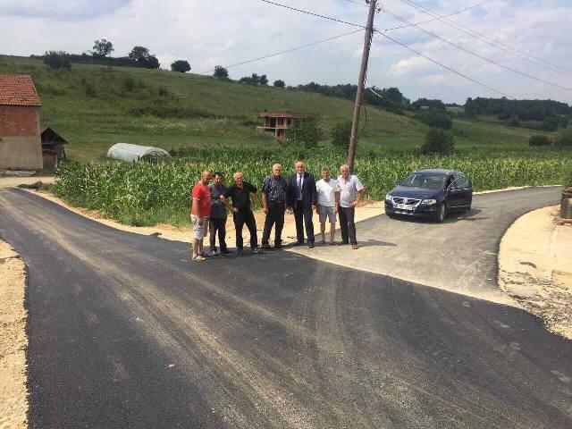 Në Verban po vazhdojnë punimet në kompletimin e infrastrkurës rrugore