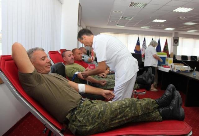Në FSK filloi aksioni për dhurimin vullnetar të gjakut