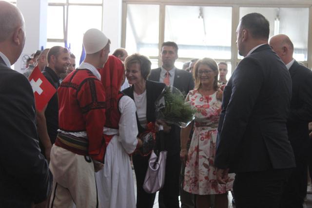 Calmy Rey shpallet qytetare nderi e Komunës së Vitisë