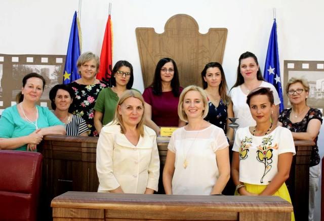 Shpresa Hajdari, kryesuese e Grupit të Grave të Komunës së Gjilanit (GGKGJ)