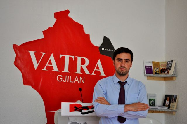 """Listës zgjedhore të Lëvizjes Qytetare """"Vatra"""" i prinë Kushtrim Kadriu"""