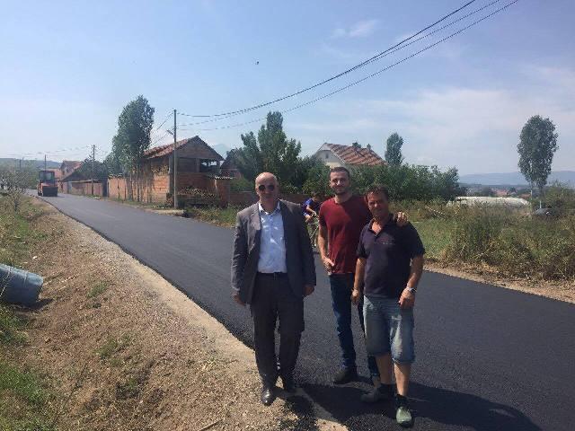 Asfaltohet rruga që lidhë fshatrat Goshicë-Gërmovë