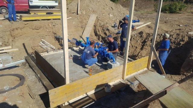 Fillojnë punimet në rikonstruktimin e ujësjellësit në Koretin