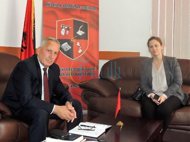 Musliu takoi përfaqësuesit e ambasadës së SHBA-së