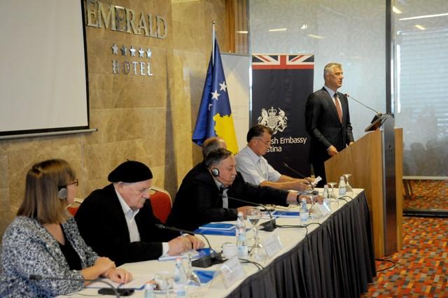 Thaçi: Personalisht do të angazhohem të zbardhet fati i të gjithë të pagjeturve në Kosovë