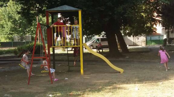 Parku në Bujanoc me lodra të reja për fëmijë