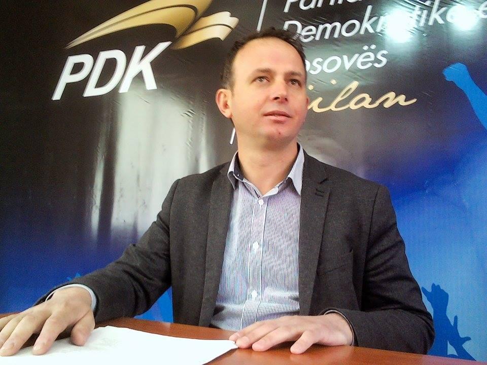 PDK në Gjilan ka zgjedhur për shef të shtabit zgjedhor Riad Rashitin