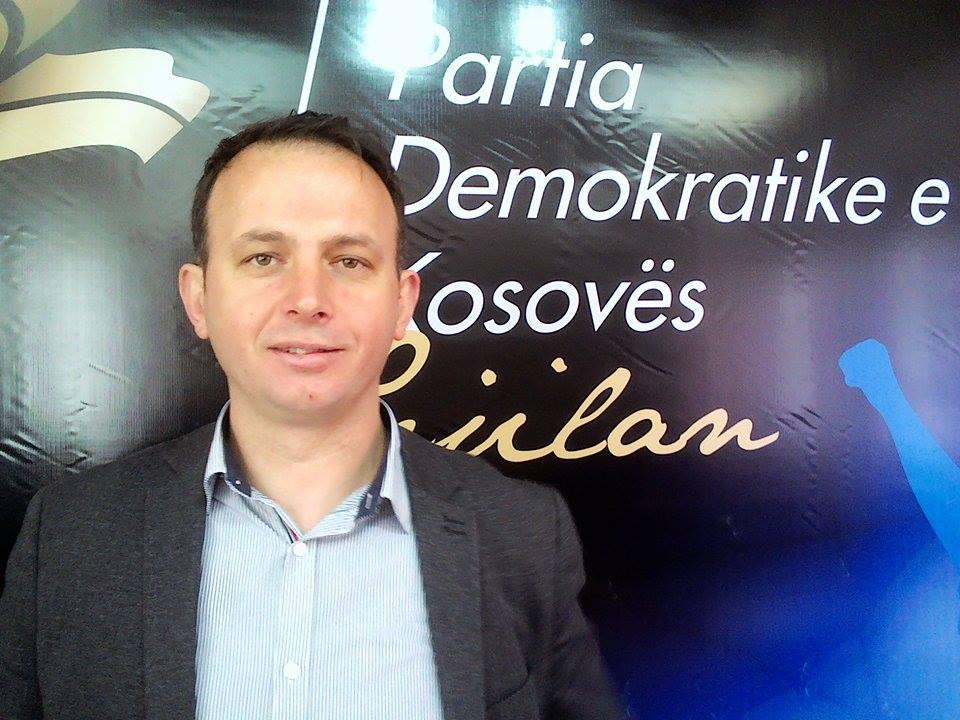 Rashiti: Dega e PDK në Gjilan, e gatshme për garën e fitores