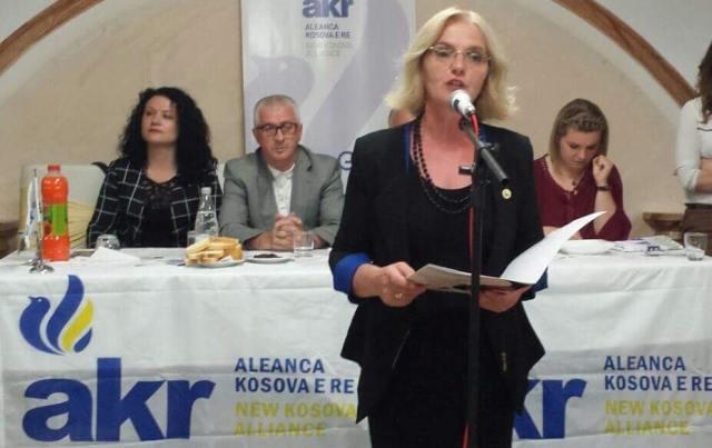 Ja lista e AKR-së, Vjollca Gagica-Matoshi bartëse e listës