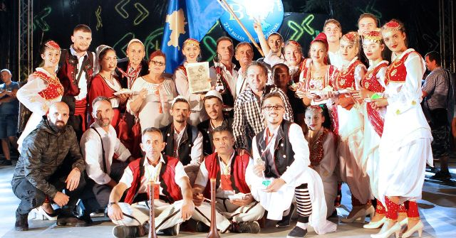 """AKV """"Gjilani"""" i pari në Festivalin e mbajtur në Sandanski të Bullgarisë"""