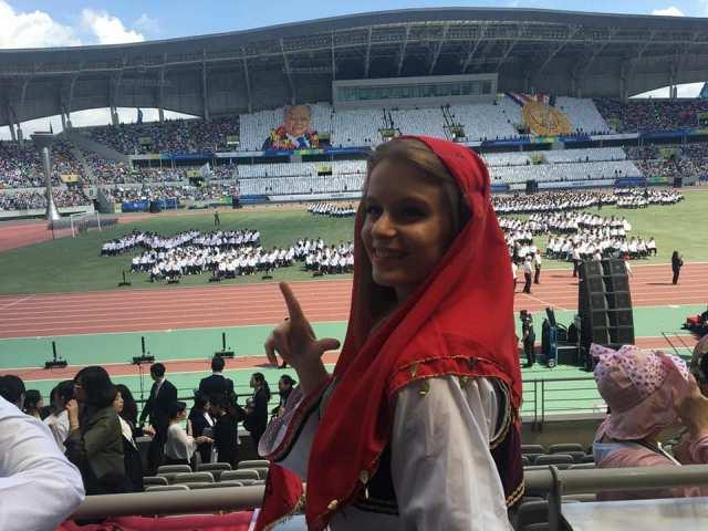 Blerina Ajvazi përfaqësoi Kosovën në Samitin e Promovimit të Paqes në Korenë Jugore