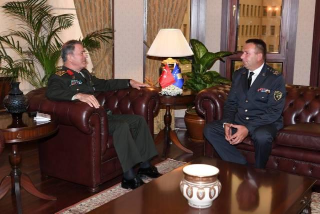 Komandanti i FSK-së, gjenerallejtënant Rrahman Rama qëndroi për vizitë zyrtare në Forcat e Armatosura të Turqisë