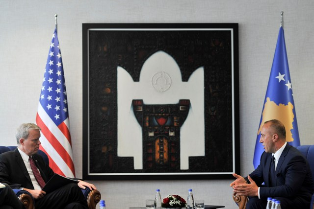 Kryeministri Haradinaj priti ambasadorin e SHBA-së, Greg Delawie