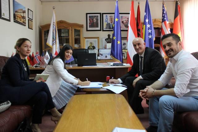 Nënshkruhet Memorandumi i Mirëkuptimit me përfaqësues të Programit Rajonal për Demokracinë Lokale në Ballkanin Perëndimor
