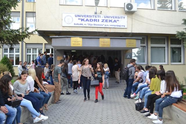 """Universiteti """"Kadri Zeka"""" ka hapur konkurs  për studime master"""