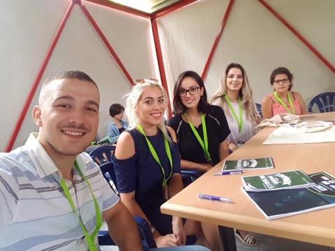 """Studentët e Universitetit """"Kadri Zeka"""" pjesëmarrës të Konferencës Rinore në Greqi"""