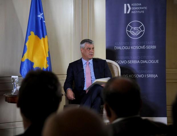 Thaçi  Ekziston konsensus nacional për të përmbyllur dialogun Kosovë – Serbi