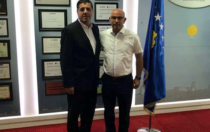 Kreu i Gjilanit pret në takim përfaqësuesin e Fondit Humanitar për Preshevë, Bujanoc dhe Medvegjë