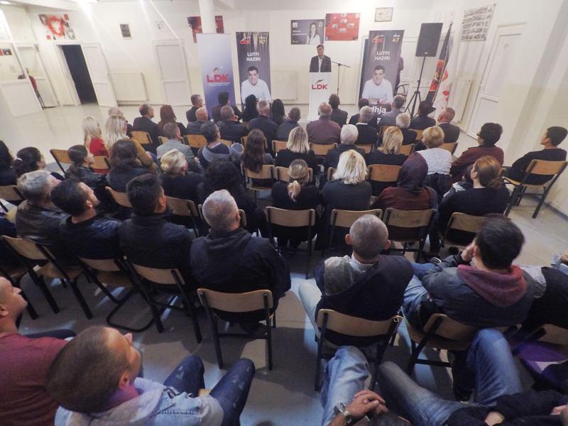LDK me takime mobilizuese në Lladovë e Nasalë