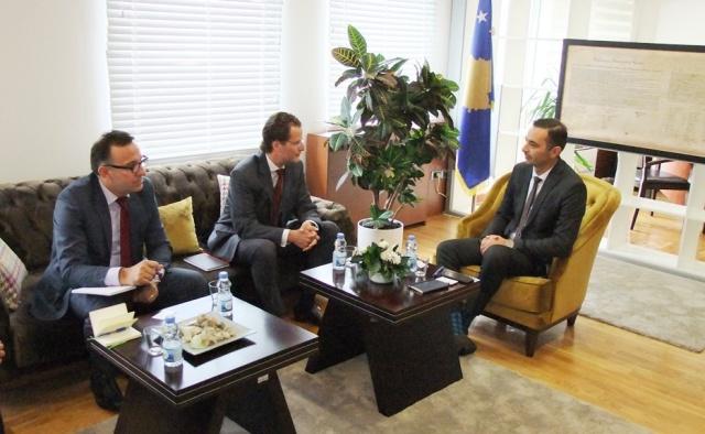 FMN rikonfirmon mbështetjen për projektet zhvillimore në Kosovë