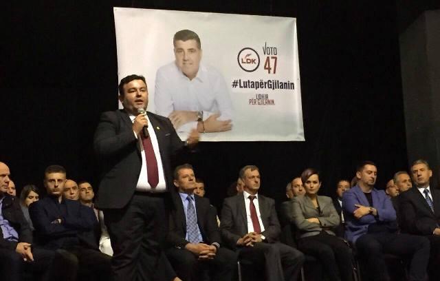 Bislimi: Me votën për numrin 47, do të vulosim fatin e bardhë të Gjilanit