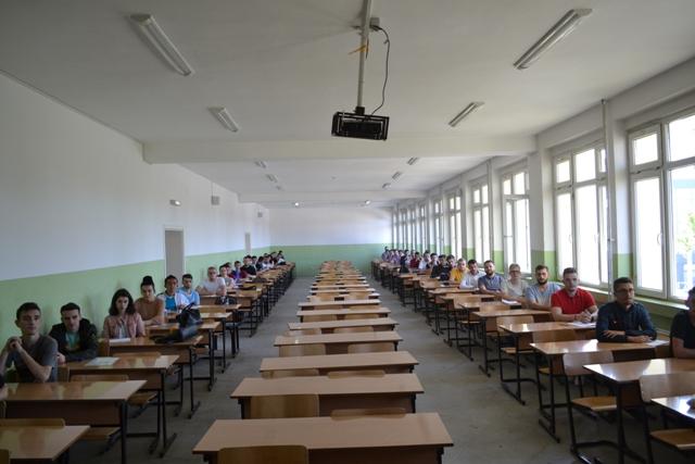 """Kanë filluar provimet pranuese në Universitetin  """"Kadri Zeka"""""""