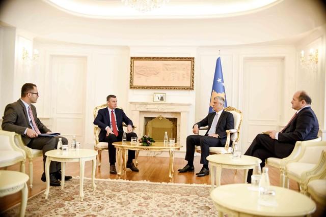 Presidenti Thaçi dhe kryeparlamentari Veseli flasin për prioritetet shtetërore