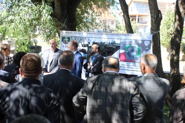 Komuna dhe DEMOS-i përurojnë projektet e përbashkëta në qytetin e Vitisë