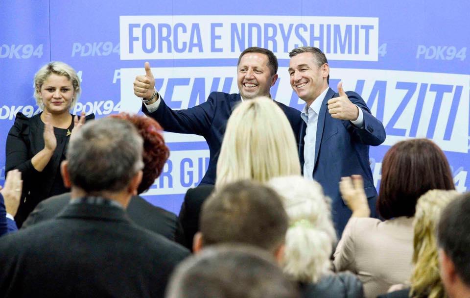 Veseli e Pajaziti: Qeverisje e PDK-së në Gjilan do të jetë shembull edhe për komunat tjera
