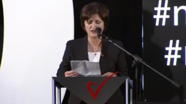 Deputetja Besa Baftiu kërkon unitet brenda Vetëvendosjes