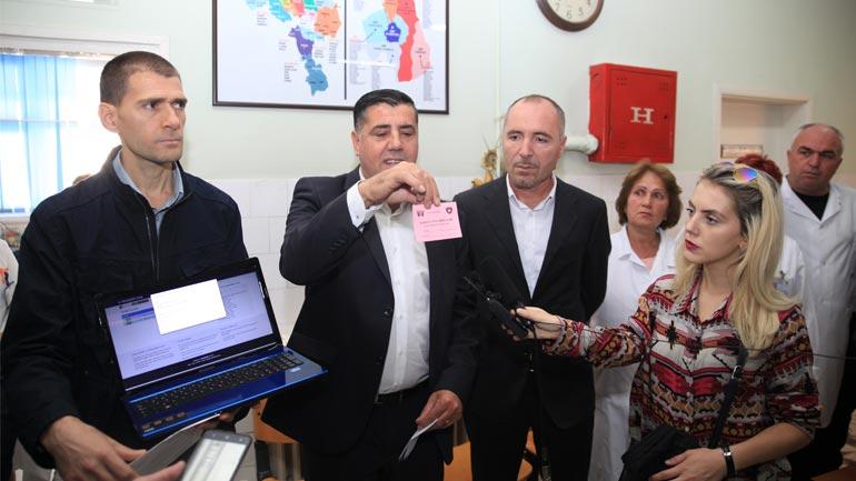 Gjilani promovon kartelën elektronike për pacientë