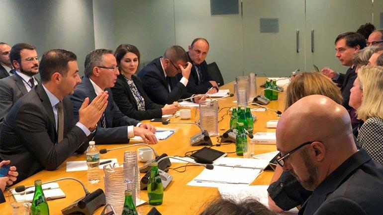 Lluka takon drejtuesit e Bankës Botërore, flasin për projekte konkrete