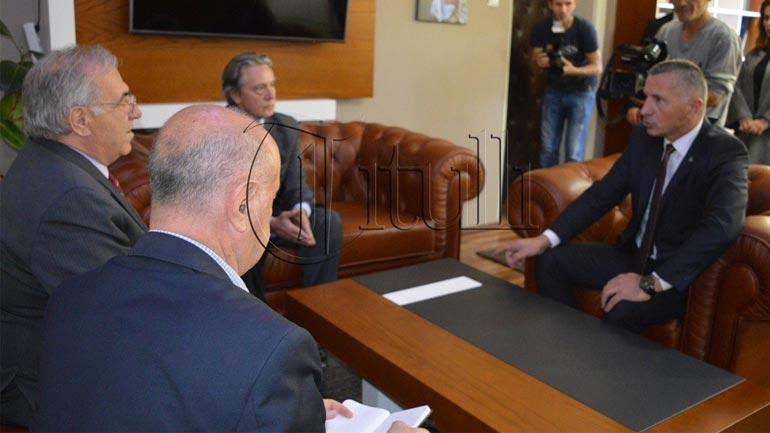 Ambasadori i Shqipërisë në Beograd qëndroi në Bujanoc