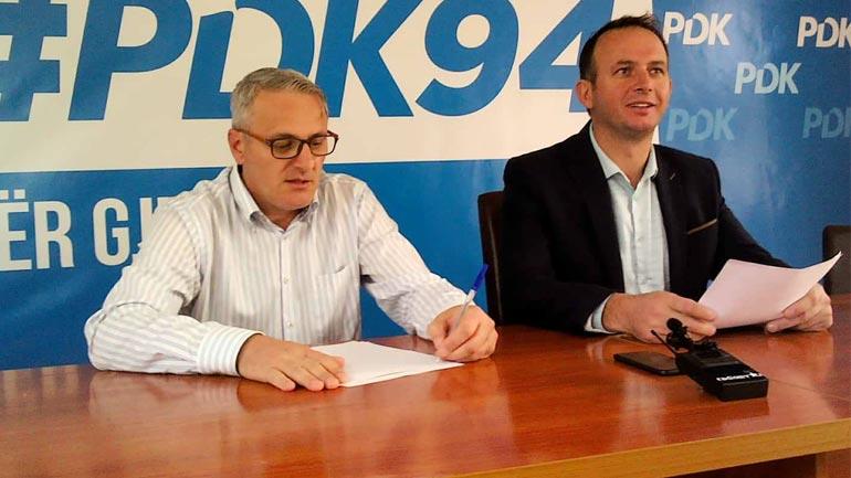 PDK: Zgjedhje të një rëndësie të veçantë, qytetari e përcakton mënyrën e funksionalizimit të komunës