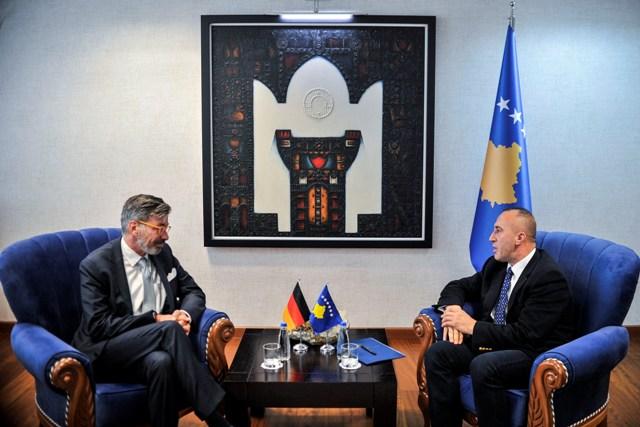 Haradinaj priti ambasadorin e ri të Gjermanisë në Kosovë, Christian Heldt