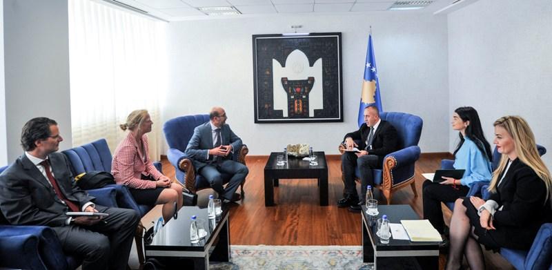 Kryeministri Haradinaj priti delegacionin e FMN-së